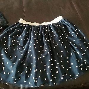 A mini skirt